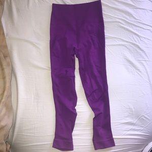 Purple Lululemon Leggings